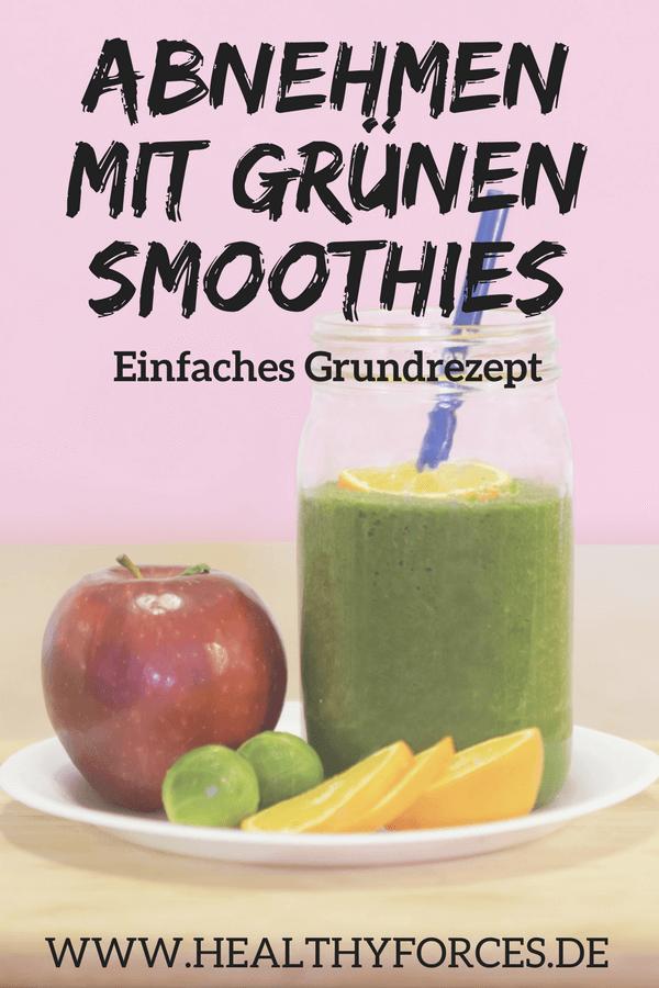Grüne Smoothies zum Abnehmen: Rezept zum Selbermachen