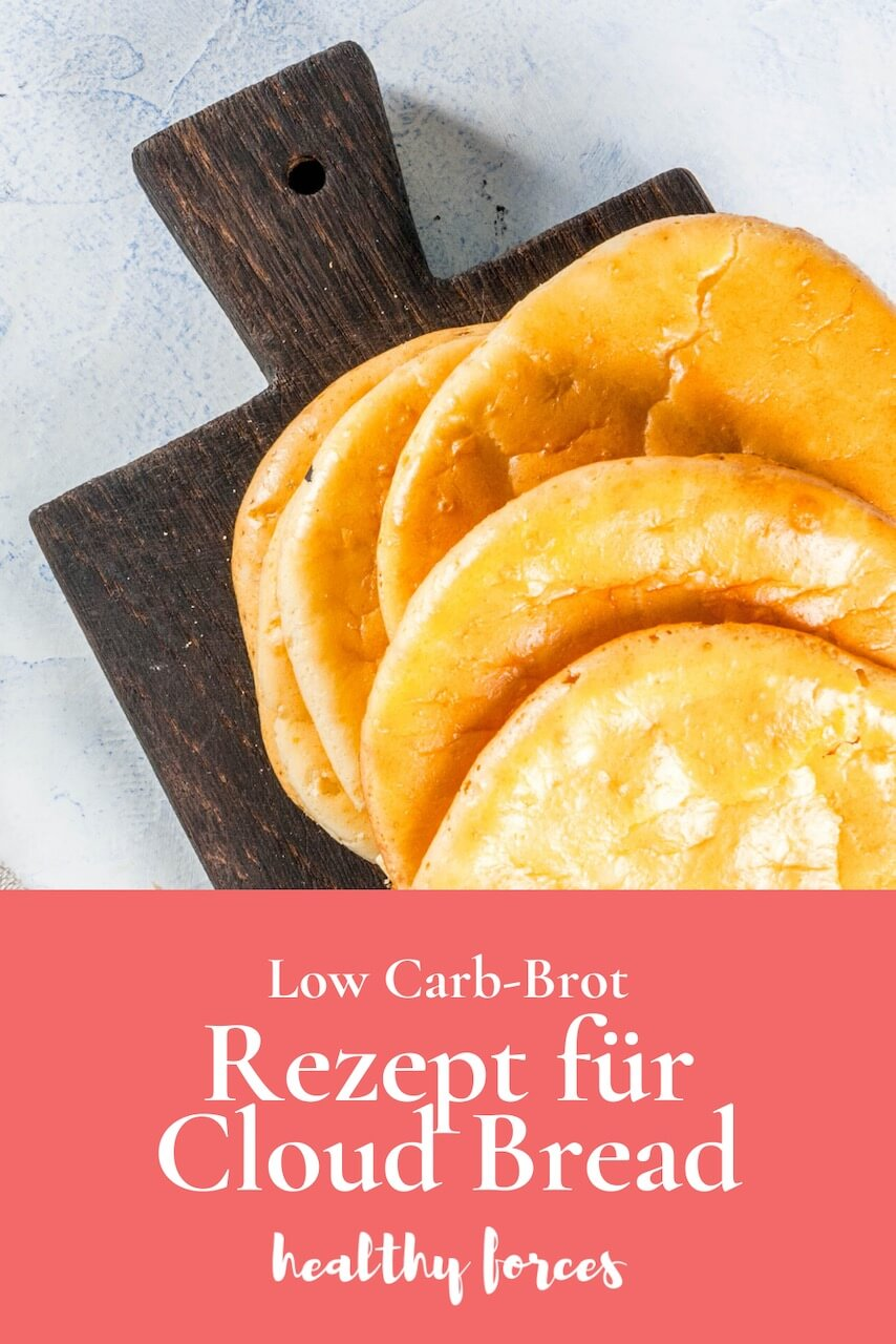 Brot ohne Kohlenhydrate: Rezept für Cloud Bread