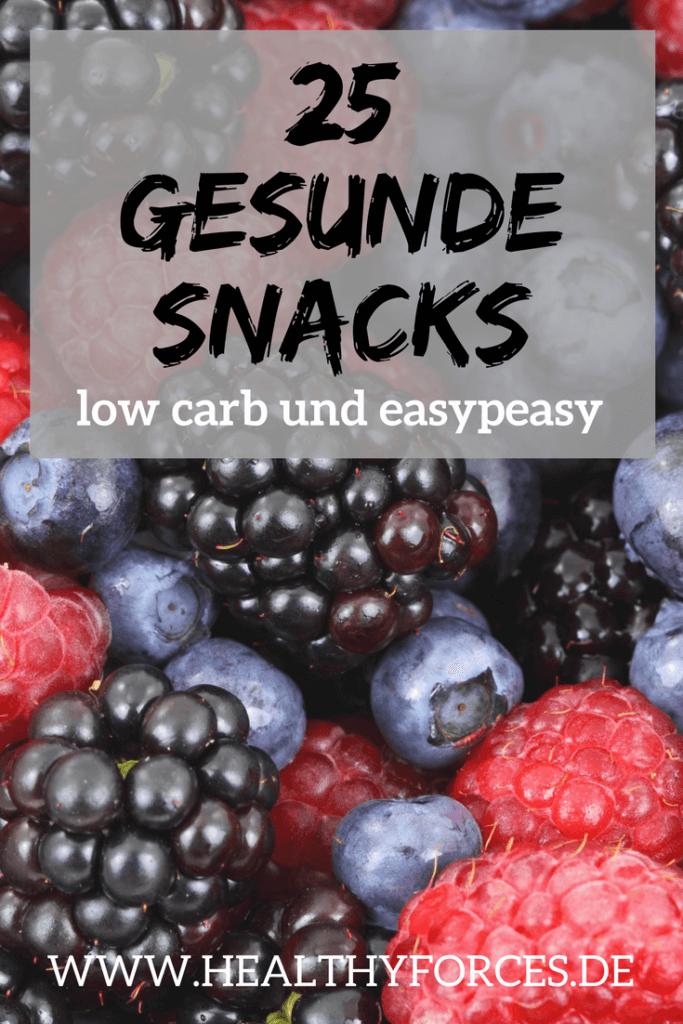 Gesunde Snacks - low carb