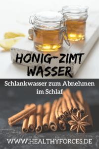 Honig-Zimt-Wasser Abnehmen