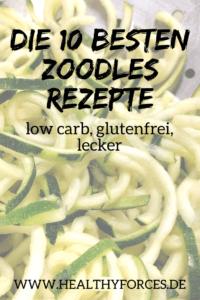 Die 10 besten Zoodles Rezepte zum Abnehmen - low carb und lecker