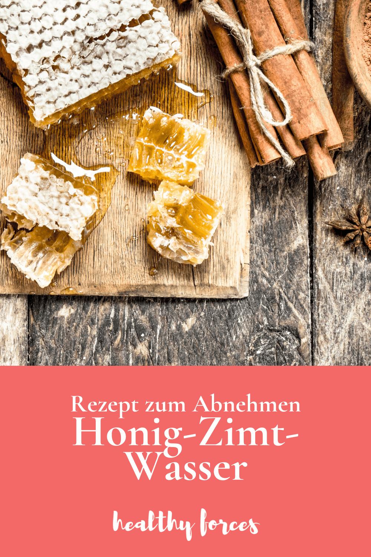 Honig-Zimt-Wasser zum Abnehmen