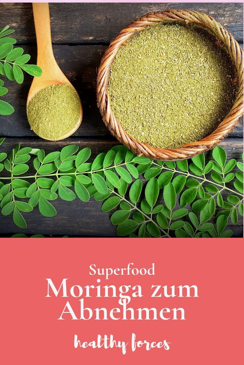 Moringa und die Wirkung auf's Abnehmen: So wirken Moringa Pulver, Pillen und Öl