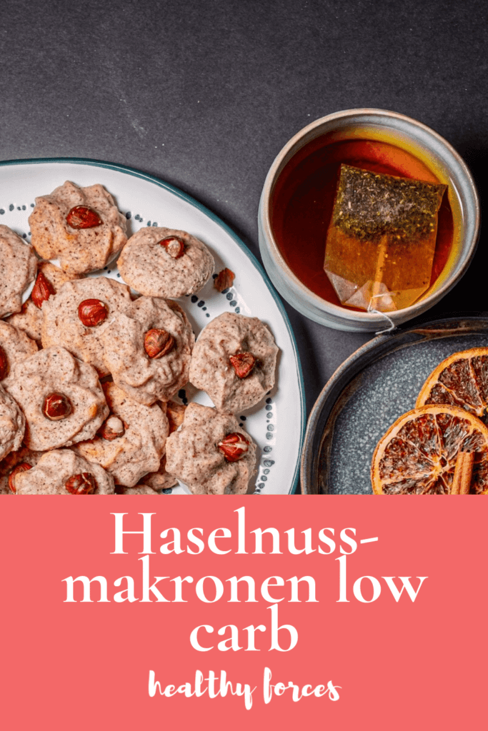 Haselnussmakronen low carb