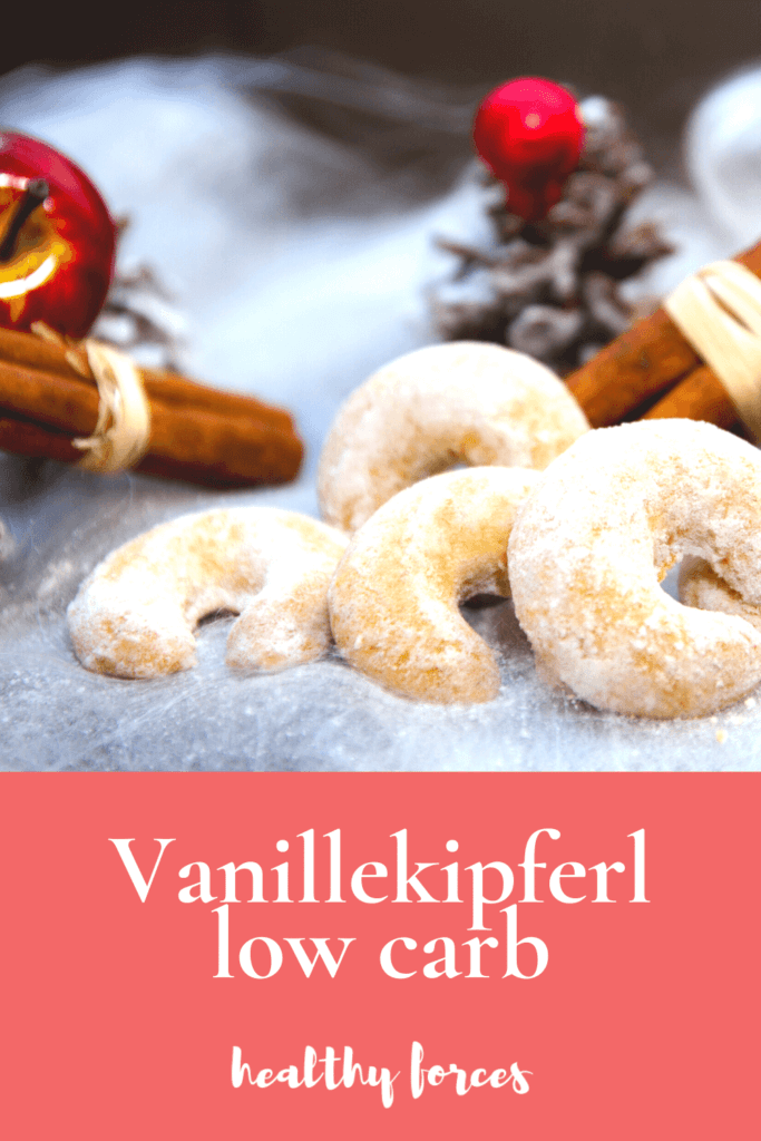 Vanillekipferl low carb