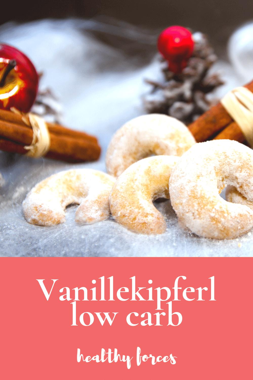 Vanillekipferl low carb: Rezept für Weihnachten